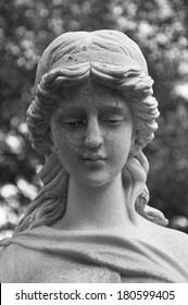 Hamburg, Germany, Cemetery Angel