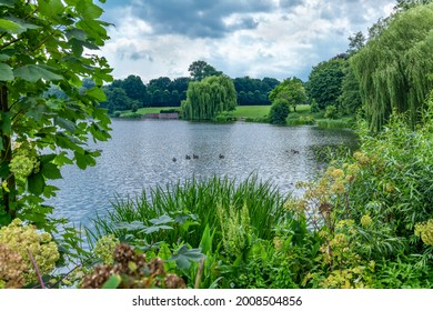 Hamburg, Germany. The City Park (German: Stadtpark). It is 148 hectares (366 acres) large and located in the Hamburg district of Winterhude.