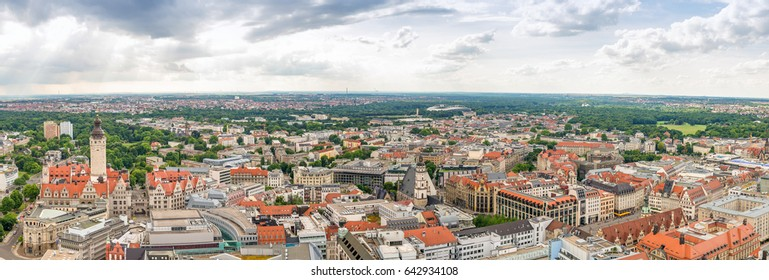 HAMBURG, GERMANY - JULY 2016: Panoramic view of city streets. Hamburg is a major attraction in Germany.