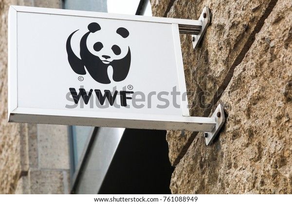 Hamburg, Germany - July 21, 2017: The World Wide Fund for Nature (WWF) is an international non-governmental organization founded in 1961 working in the field of the wilderness preservation