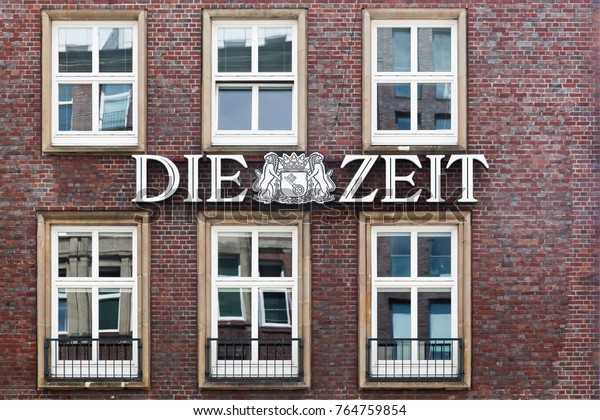 Hamburg, Germany - July 21, 2017: Die Zeit is a German national weekly newspaper published in Hamburg, Germany