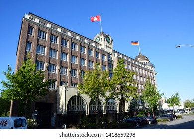 Hamburg, Germany - May 12, 2019: Störtebecker Haus