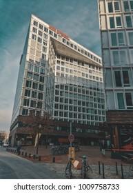 Hamburg, Germany - November 2016: The Spiegel magazine building.