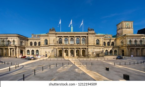 Hamburg, Germany - October 5, 2018: The Chamber of Commerce (German: Handelskammer). It is the representative organisation of Hamburg's enterprises, a political lobbyist, advocate and mediator.
