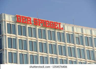 Hamburg / Germany - September 16, 2011: Headquarters of Der Spiegel in Hamburg, German - Der Spiegel is a German weekly news magazine