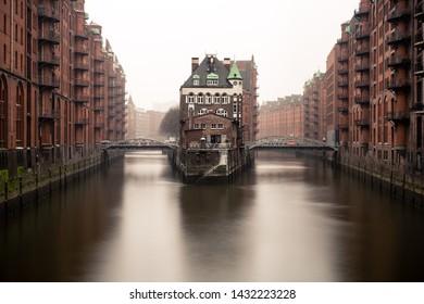Hamburg Germany Speicherstadt Warehouse Wonderland
