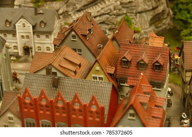 Hamburg, Germany -The Wunderland museum in Hamburg- It is a model of buildings.