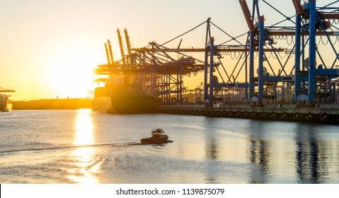 Hamburg Harbour City Germany