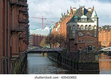 Hamburg Historic Speicherstadt
