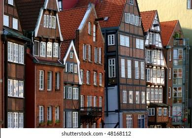 Holzhäuser Hamburg holzhauser str images stock photos vectors