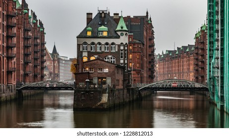 Hamburg, Speicherstadt, Water