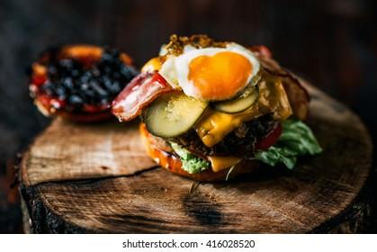 hamburger,