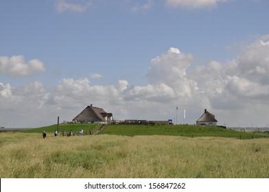 Hamburger Hallig, an Island in Germany