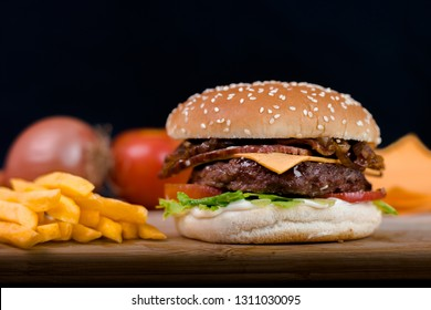 Hamburger Junk Food