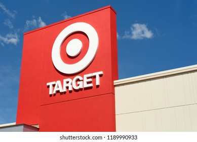 The Hamilton Crossings shopping center Target retail store in Lower Macungie Township, Pennsylvania on September 11, 2016.