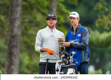 Hamilton, ON Canada - June 5 2019 - Bubba Watson during Pro AM day ahead of RBC Canadian Open at Hamilton Golf & Country Club, (Photo par: Gary Yee)