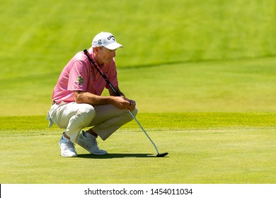 Hamilton, ON, Canada - June 6 2019 - Jim Furyk during round 1 of the RBC Canadian Open at the Hamilton Golf Club, (Photo by: Gary Yee)