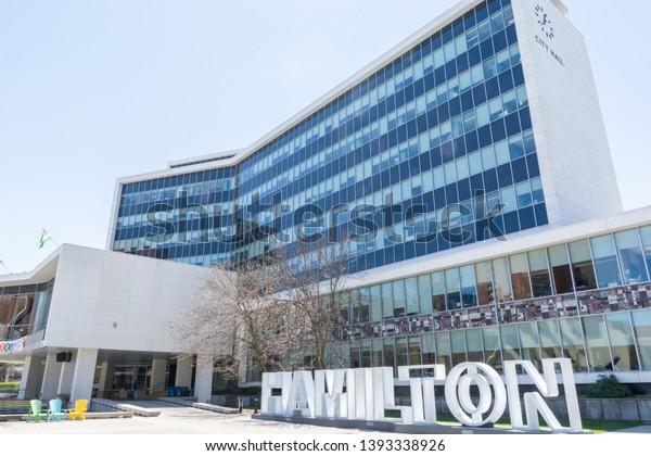 Hamilton Ontario Canada May 08 2019 Stock Photo Edit Now 1393338926