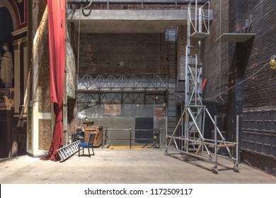 Hamilton, Ontario/Canada. August 29, 2018.  The Abandoned Tivoli Theatre