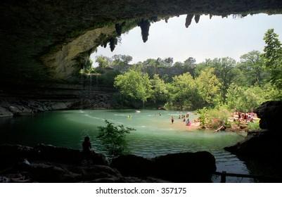 Hamilton Pool State park, Austin, Texas