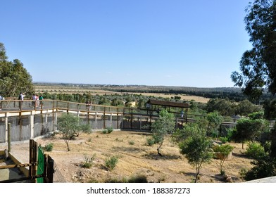 Hammamet-June 22: Panorama of the Friguia park on June 22,2010 in Hammamet, Tunisia.