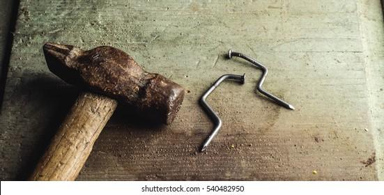 hammer, nails love
