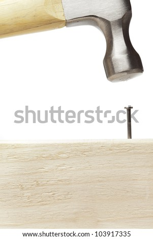 Hammer Nails Used Construction Stock Photo Edit Now 103917335