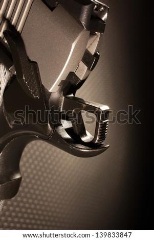 Hammer On Semi Automatic Handgun That Stock Photo (Edit Now