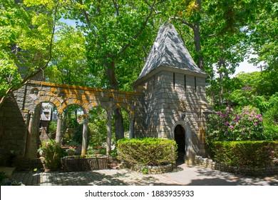 Hammond Castle was built in 1926 in Magnolia of Gloucester, Massachusetts MA, USA.