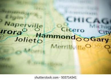 Hammond, Indiana, USA.