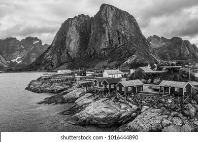 Hamnoy is the characteristic and picturesque village of Lofoten; mainly consists rorbuer, old fishermen's houses now used as a hostel.