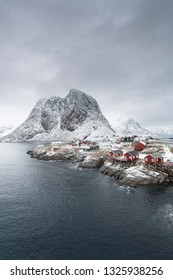 Hamnoy village on the Lofoten islands, Norway, Europe