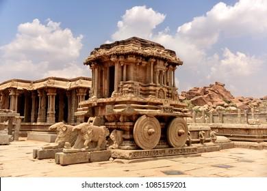 Hampi Chariot India