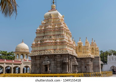 Hampi, India - February 15, 2019: Poet, philosopher and social reformer Basavanna's samadhi at Kudalasangama is a place of great importance for his followers and admirers. Vijaypura, Karnataka, India.
