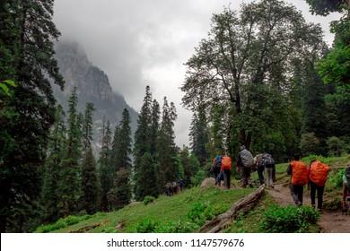 Hampta Pass Trek, Himalayas, India