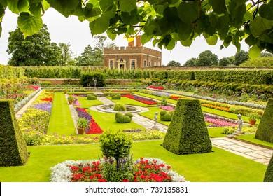 Hampton Court Palace garden show, 21st July 2012, London England