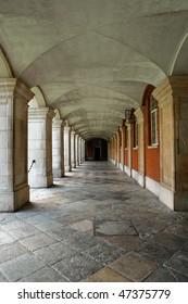 Hampton interior alley