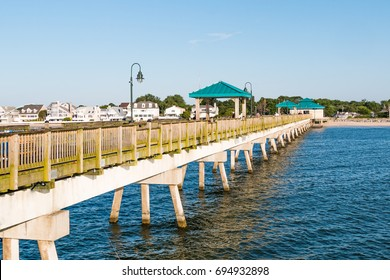 Buckroe stock images royalty free images vectors for Buckroe beach fishing pier