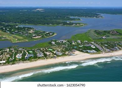 Hamptons Beach on Long Island
