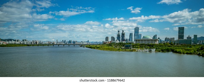 Han river, Hangang, Seoul Korea