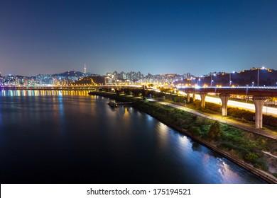 Han river in Seoul