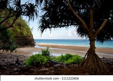 Hanakapiai Beach, Kauai, Hawaii