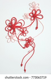Hana-musubi; Japanese knot with flower design