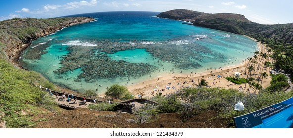 Hanauma Bay, the gateway to heaven!