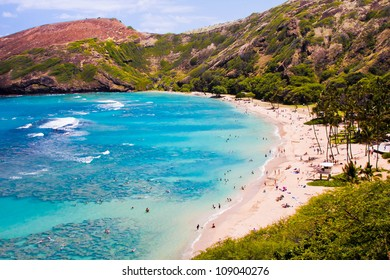 Hanauma  Bay in Hawaii