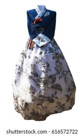 Hanbok. Korean traditional dress