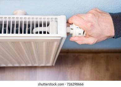hand adjusting radiator