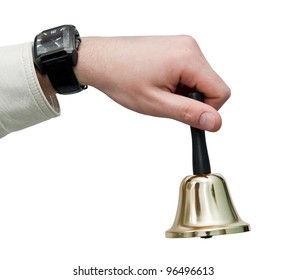 Holding Bell Images, Stock Photos & Vectors | Shutterstock