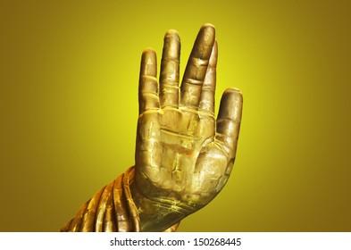 Hand Buddha