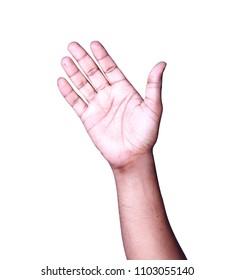 Hand Bye Bye symbol